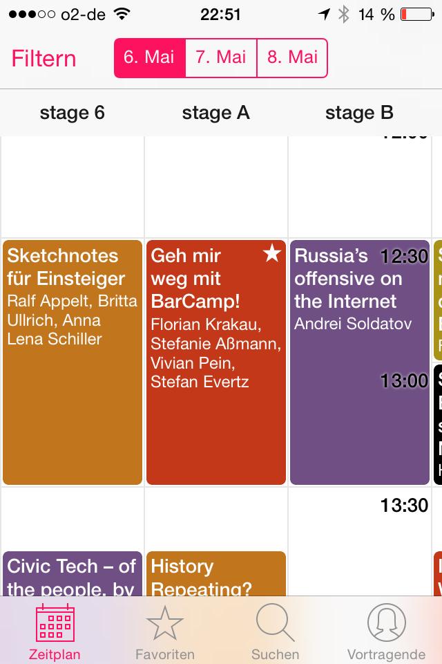 Programm-Übersicht re:app #rp14