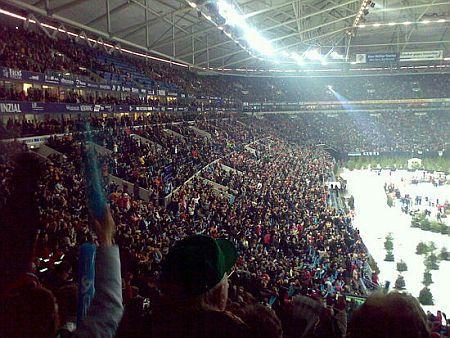 15.000 von 50.000 - Biathlon auf Schalke