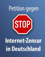Die ePetition gegen Internetsperren - Jetzt mitzeichnen!