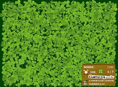'Four Leaf Clover' spielen (Flash erforderlich)