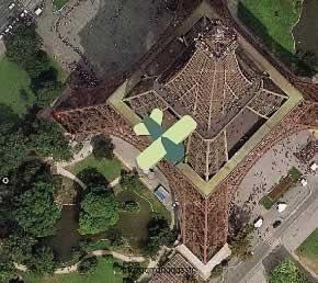 Per Goggles zum Eiffelturm