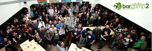 Gruppenfoto BarCampRuhr2