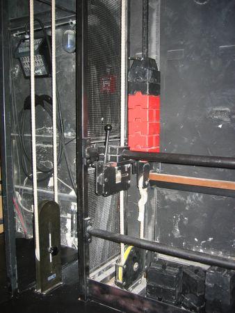 Bühnentechnik der analogen Art...