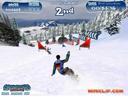 'Snowboard Madness' spielen (Shockwave erforderlich)