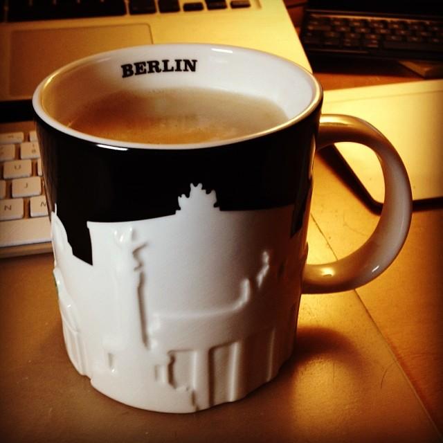 Relieftasse Berlin