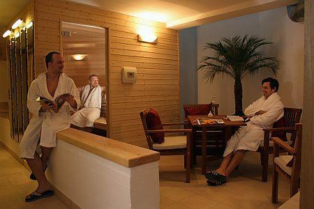 Sauna im WG-Hotel