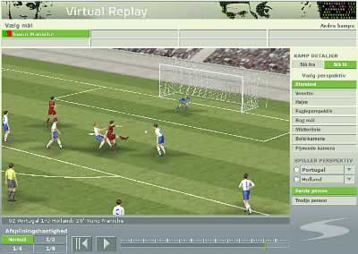 Screenshot 'Virtual Replay'