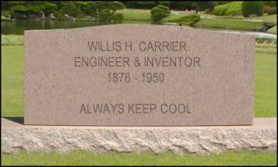 Willis H. Carrier - Thank you for the aircon