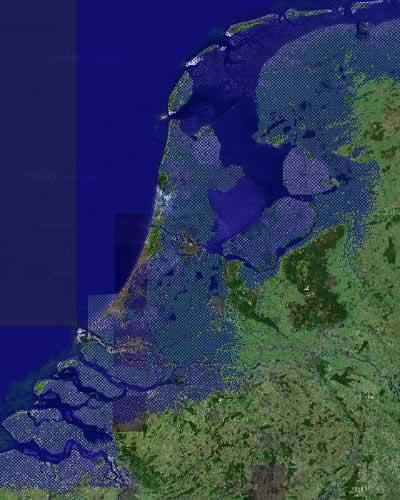 'Neue' Küstenlinie der Niederlande